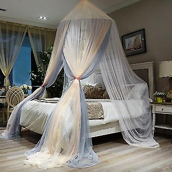 Mosquito net, double-dome three-door mosquito net, anti-mosquito bite on single bed and double bed, easy to install