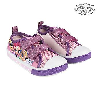 Casual shoes with leds shimmer and shine 73624 purple