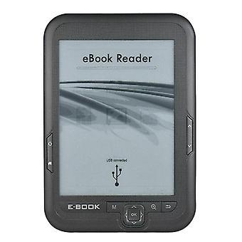 New 6 inch 16gb ebook reader e-ink capacitive e book light eink sn e-book e-ink e-reader mp3 with case, wma pdf html