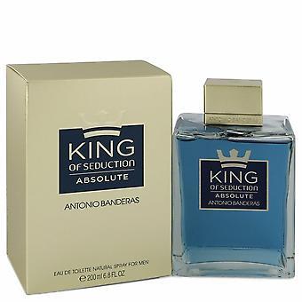 King of Seduction Absolute by Antonio Banderas Eau De Toilette Spray 6.7 oz / 200 ml (Men)