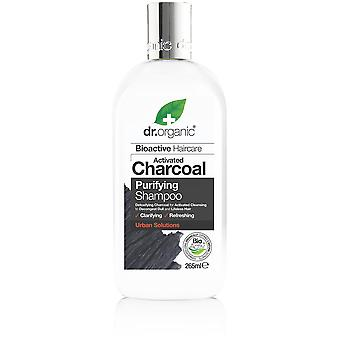 Dr. Organic Activated Charcoal Shampoo 265 ml