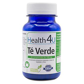 Health 4U Té Verde 60 Comp de 700 mg