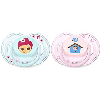 Avent Soothers Classic 0 to 6 months 2 pcs