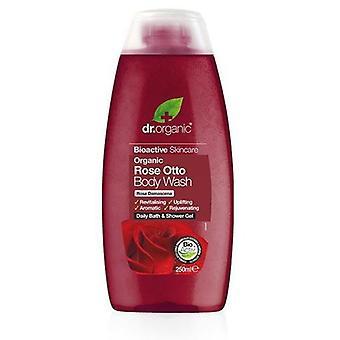 Dr. Organic Gel de Ducha Rose Otto 250 ml