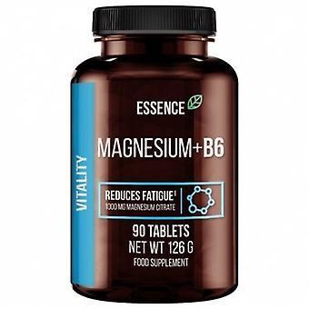 جوهر التغذية المغنيسيوم + B6 1000 ملغ 90 Tabletten