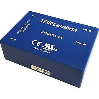 TDK-Lambda AC/DC PSU (trykk) 9 V 6,66 A 60 W