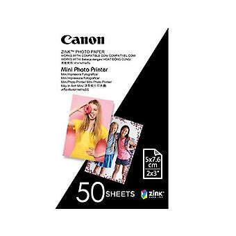 50Pcs Canon Mini Photo Printer Paper