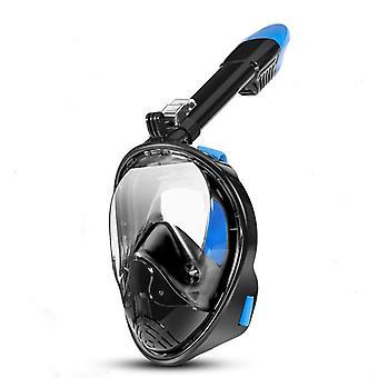 Anti-Fog and Anti-Leak 180° Vision Snorkel Mask,Adult