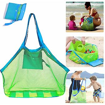 Mesh Beach Bag Extra Large Beach Bags , Totes Backpack For Holding Beach Toys