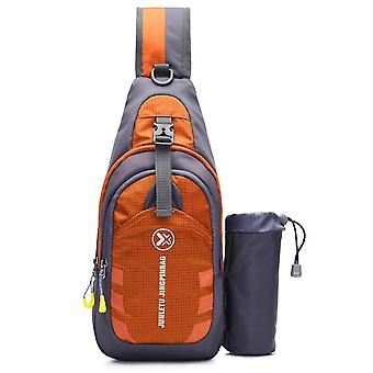Outdoor Waterproof Chest Sling Pack Unisex Sling Backpack Chest Crossbody Bag