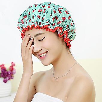 Vattentät badhatt dubbel lager dusch hårskydd