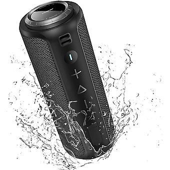 HanFei Bluetooth Lautsprecher, Tragbarer Bluetooth Box mit IPX7 Wasserdicht, 40W Stereo Sound, 40M