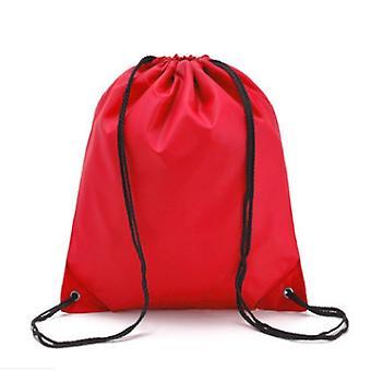 Waterproof Drawstring String Bags, Printed Backpack