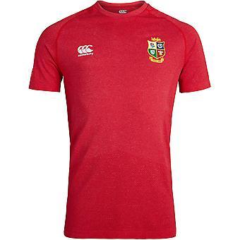 British & Irish Lions Mens Seamless Training Rugby T Shirt