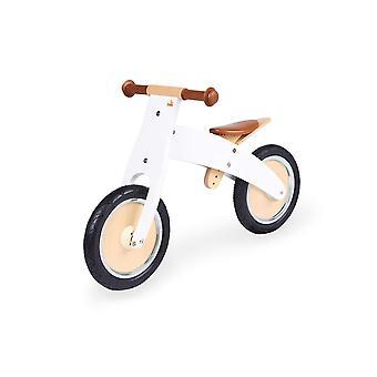FengChun Laufrad Johann, Holzlaufrad, unplattbare Bereifung, umbaubar vom Chopper zum Laufrad, fr