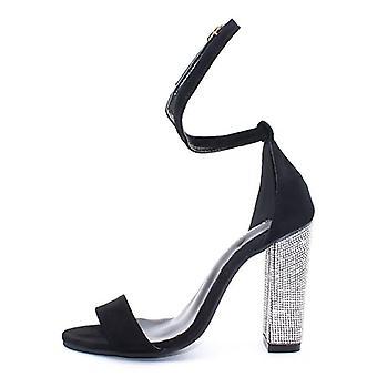 Sexy Talons hauts Femmes Pompes classiques Chaussures Femmes Boucle sangle Sandales Plus Taille