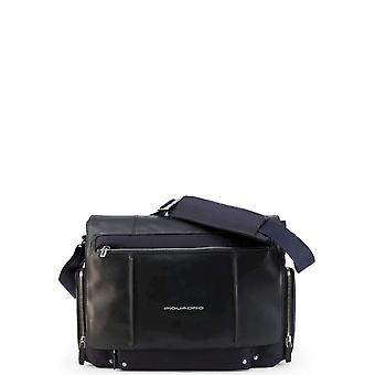 Piquadro - Väskor - Axelväskor - CA1592LK2-BLU - Herrar - Navy
