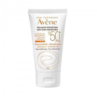 Crema minerale Avene Sun Care SPF50+ 50 ml