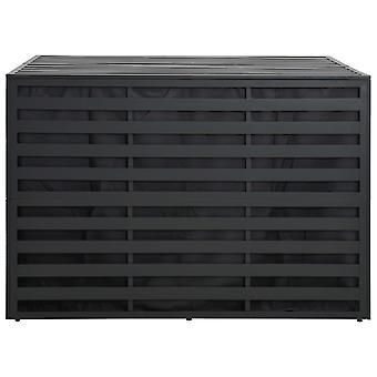 vidaXL Tuinbox Aluminium 150x100x100 cm Antraciet