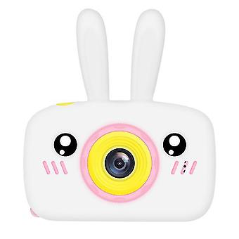 Rabbit white portable full-hd 1080p digital mini camera for kids child az965