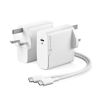 ALOGIC 100W USB C Väggladdare med? Gan? Fast Tech, PD Power Delivery 3.0 Laptop Charger för bärbara datorer, surfplattor, smartphones & mer.