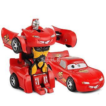 Automaattinen muodonmuutosrobotti King Kong Vedä automalli Lapset'auton törmäyksen muodonmuutos