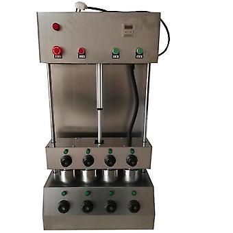 Combinación de moneda de máquina de pizza y horno