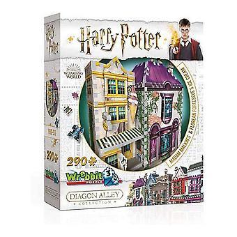 3D Puzzle Harry Potter Madam Malkin's & Florean Fortescue's Ice Cream Wrebbit (209 pcs)