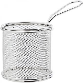 Cozy & Trendy 5367191 Round Stainless Steel Fries Basket Diameter 8,8cmxh9cm