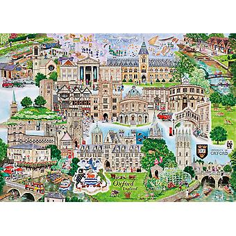 Gibsons Oxford Jigsaw Puzzle (1000 Pièces)