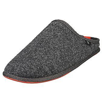 Ted Baker Simonn Mens Slippers Shoes in Dark Grey