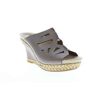Earthies Adult Womens Setina Calf Leather Wedges Heels