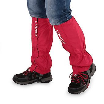 Waterproof gaiters cycling legwarmers leg cover camping hiking ski boot travel shoe snow hunting climbing gaiters