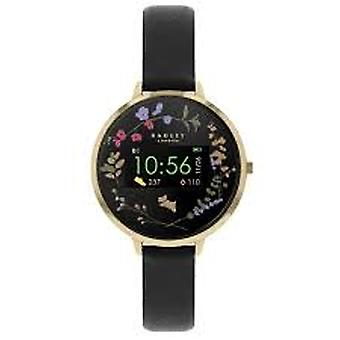 Radley Rys03-2010 Black Dial Leather Strap Ladies Smart Watch