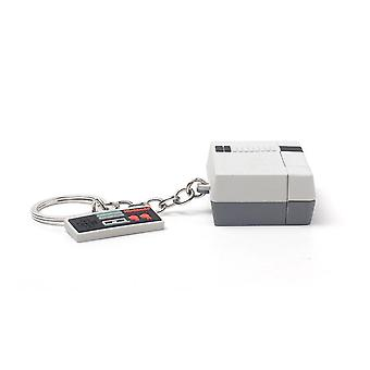 NES 3D Console & Controller Rubber Keychain