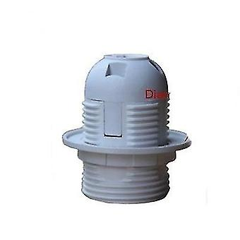 1pcs High Quality White/black 2a 250v E27 / E14 Card-type Lamp-holder Ce