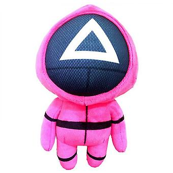 Squid Game Plush Stuffed Doll Funny Squid Game Character Toys Halloween Christmas Kids Gifts