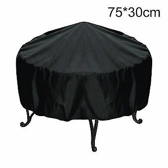 Outdoor grill covers waterproof bbq outdoor grill cover rainproof dustproof sunshade round barbecue covers 75*30cm