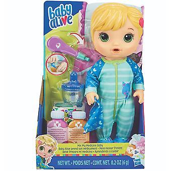 Baby Alive Mix Meine Medizin Baby Kitty Katze Pyjama