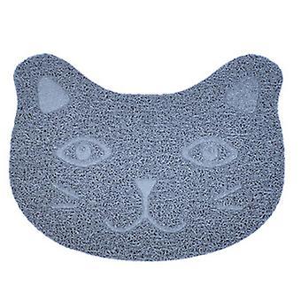 Cute Cat Pvc Food Bowl Pad Non-slip Food Mat For Dog Cat Puppy