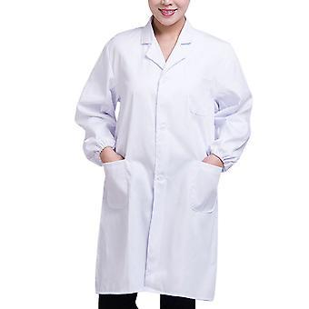 Weißer Laborkittel Doktor Krankenhaus Wissenschaftler Schule Kostüm Kostüm für Studenten Erwachsene