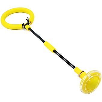 Anneau de saut clignotant pliable Boule de saut brillante pour enfants et adultes