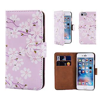 32 ° libro di Design floreale per Apple iPhone 7 / iPhone 8 - Cherry Blossom