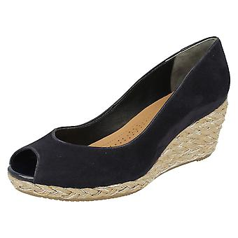 Ladies Van Dal Peep Toe Wedge Daly