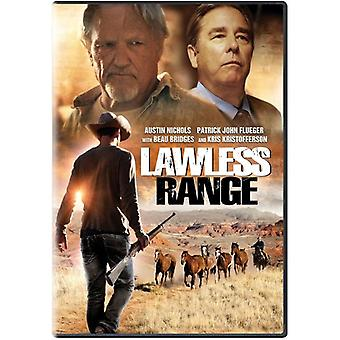 Lawless Range [DVD] USA importere