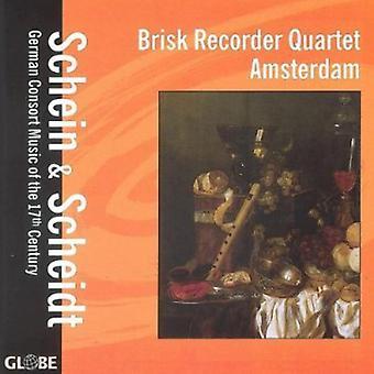 Schein/Scheidt - Schein & Scheidt: German Consort Music of the 17th Century [CD] USA import