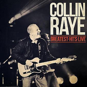 Collin Raye - importation USA Greatest Hits Live [CD]
