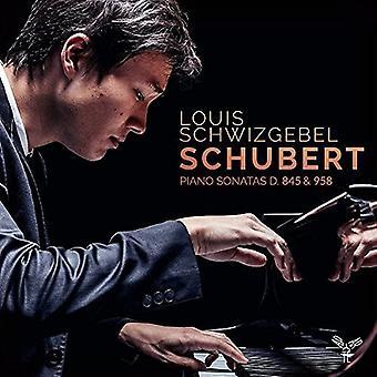 シューベルト/Schwizgebel、ルイ - ピアノ ・ ソナタ D845 & D958 [CD] USA 輸入