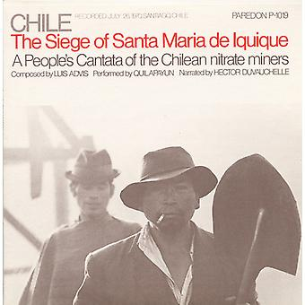 Quilapay & Hector Duvachelle - Chile: The Seige of Santa Maria De Iquique-a Peopl [CD] USA import