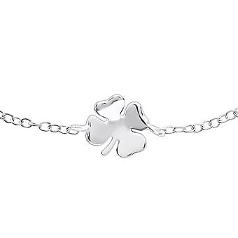Lucky Clover - 925 Sterling Silver Chain Bracelets - W22893x